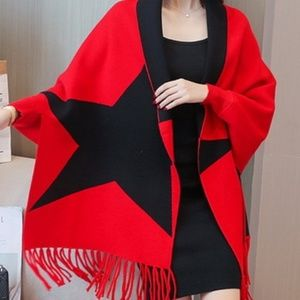 DOUBLE SIDED WRAP RED/BLACK